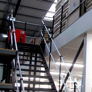 Mezzanine & office fit-out, Surrey