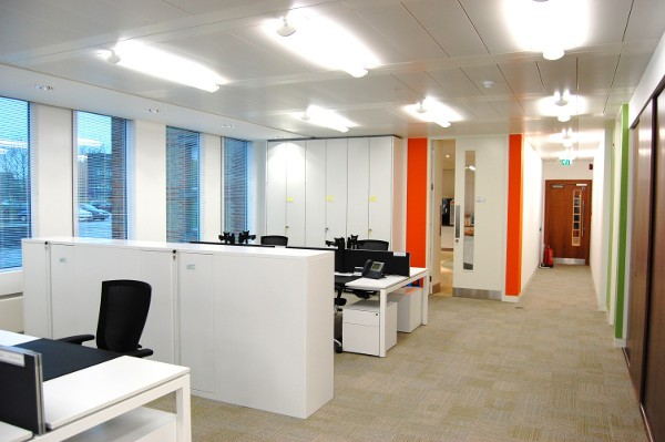 Office Ceilings and Flooring